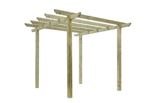 Cranborne Pergola - Includes Spikes for soft ground
