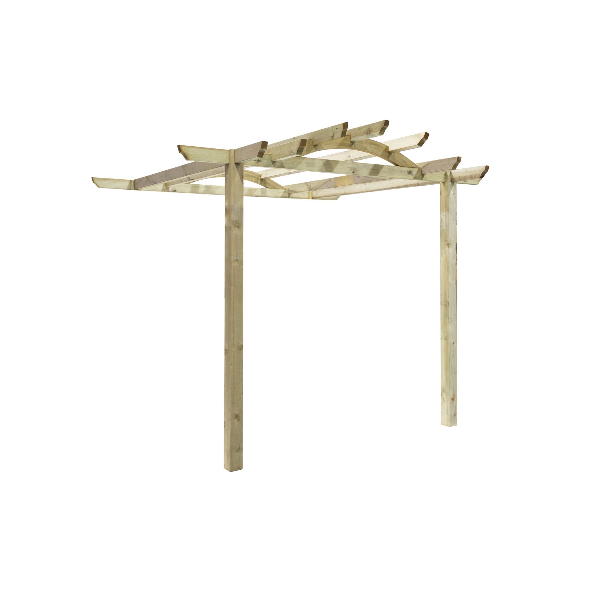 Tetbury Patio Pergola - Includes Bolt Down Anchors at Tesco Direct