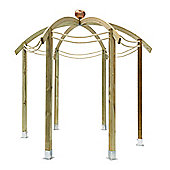 Bickington Domed Pergola without base - pack includes Metcrete