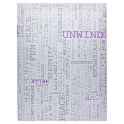 F&F home Words Canvas