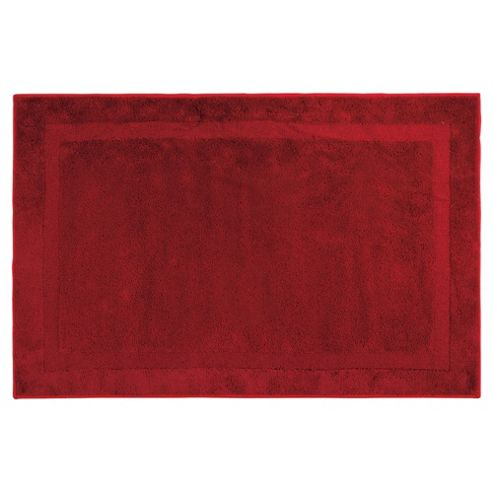 Tesco Value Rug Red 100X150Cm