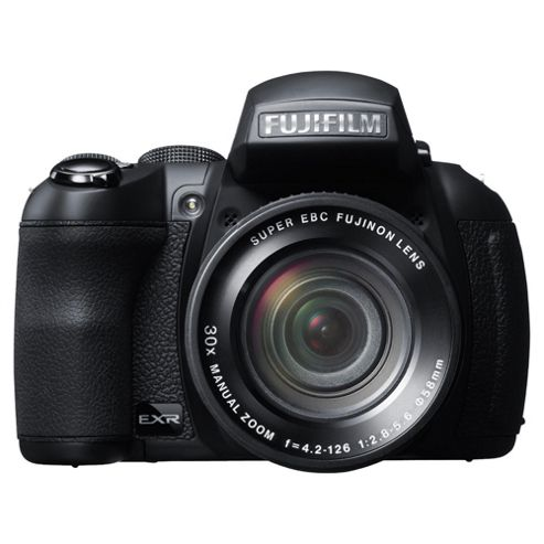 Fujifilm FinePix HS30EXR Bridge Camera 3 LCD, Black