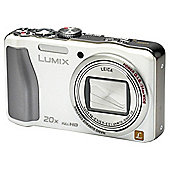 "Panasonic TZ30 Digital Camera 3"" LCD, White"