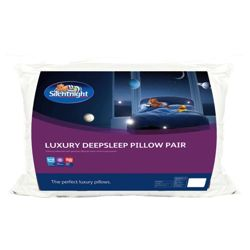 Silentnight Luxury Deep Sleep Pillow 2PK..