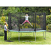 Plum 14ft Space Zone Trampoline and 3G Enclosure
