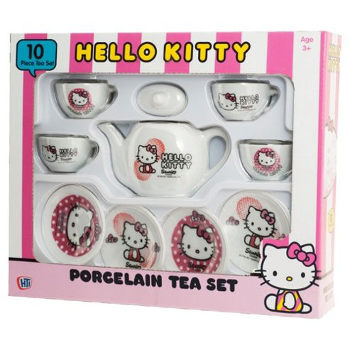 Hello Kitty Porcelain Tea Set