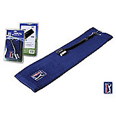 PGA Golf towel & brush Set