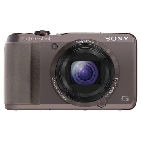 Sony HX20 digital camera brown