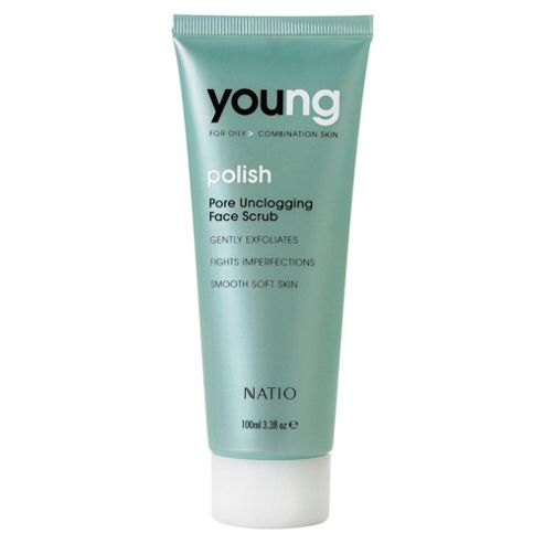 Natio Young Pore Unclogging Face Scrub