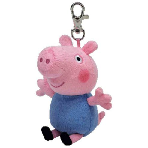 George or Peppa Pig Keychain - Assortment – Colours & Styles May Vary