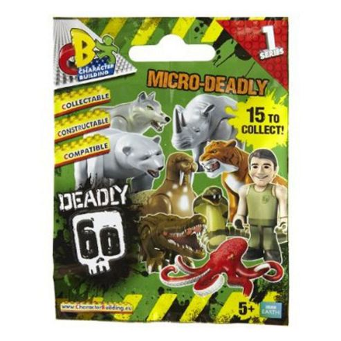 Character Building Deadly 60 Mini Figures - Assortment ? Colours & Styles May Vary