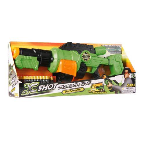 X Shot Zuru Turbo Fire Dart Shooter
