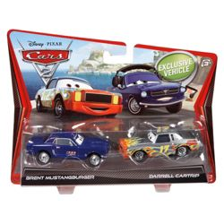Cars 2 Darrel Cartip/Bent Mustangberger