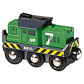 Brio Freight Battery Engine Wooden Toy