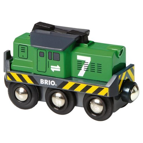 Brio Freight Battery Engine Wooden Toy