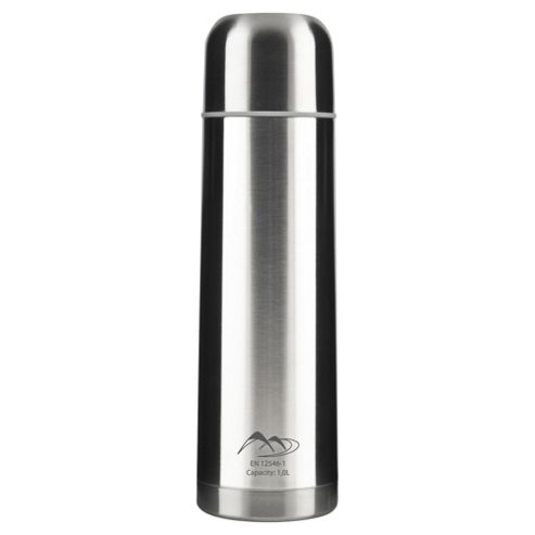Tesco Stainless Steel Flask, 1L