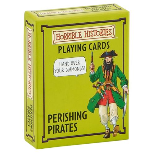 Horrible Histories Perishing Pirates Playing Cards Game