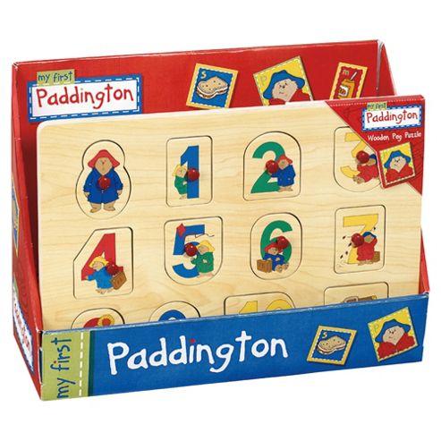 My First Paddington Peg Puzzle Wooden Toy