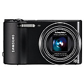"Samsung WB150 Black Digital Camera, 14.1 MP, 18x Optical Zoom, 3"" LCD Screen"