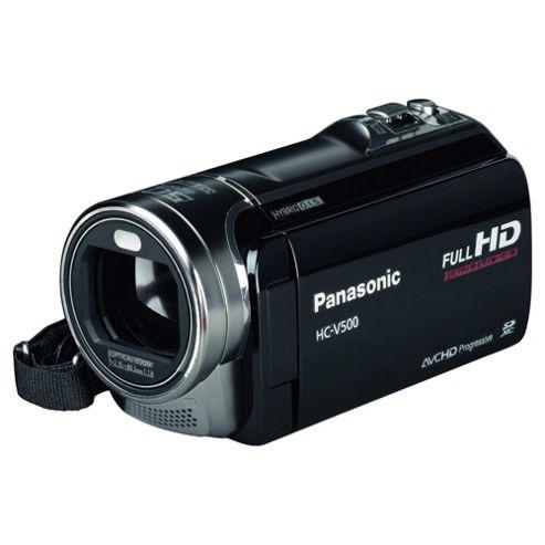 Panasonic V500 HD Camcorder, Black