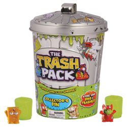 The Trash Pack Jumbo Bin with 2 Trashies