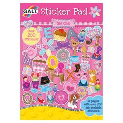 Galt Girls Club Sticker Pad
