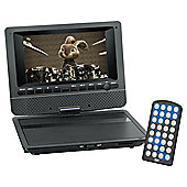 "Technika 7"" Portable DVD Player With Digital Screen TKD7P DVD"