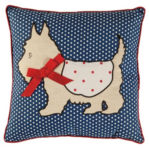 Polka Dot Dog Cushion