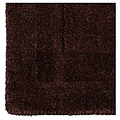 Tesco Plain Wool Runner, Chocolate 70x200cm