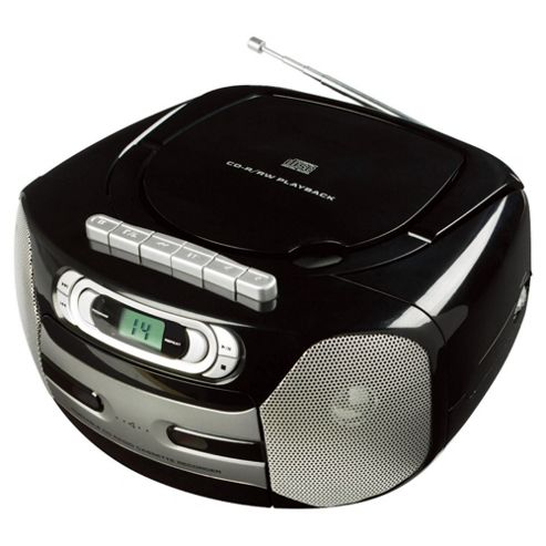 Tesco BB 211KECR Boombox Cassette player