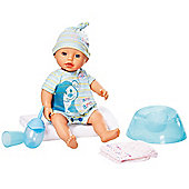 My Little Baby Born Potty Training Doll