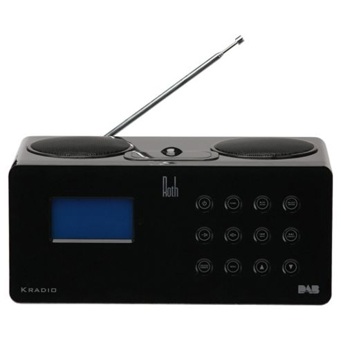 Roth Kradio Internet Radio And Ipod Dock (Black)