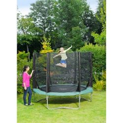 Plum 8ft Space Zone Trampoline and 3G Enclosure
