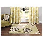 Tesco Rugs Meadow Rug Green 150X240Cm