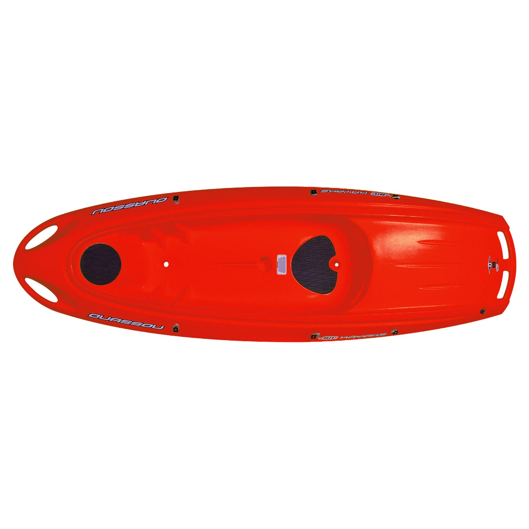 Bic Ouassou 1 Man Sit-On-Top Kayak Red Package at Tesco Direct