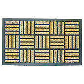 Panama Rubber And Coir Doormat 40x60