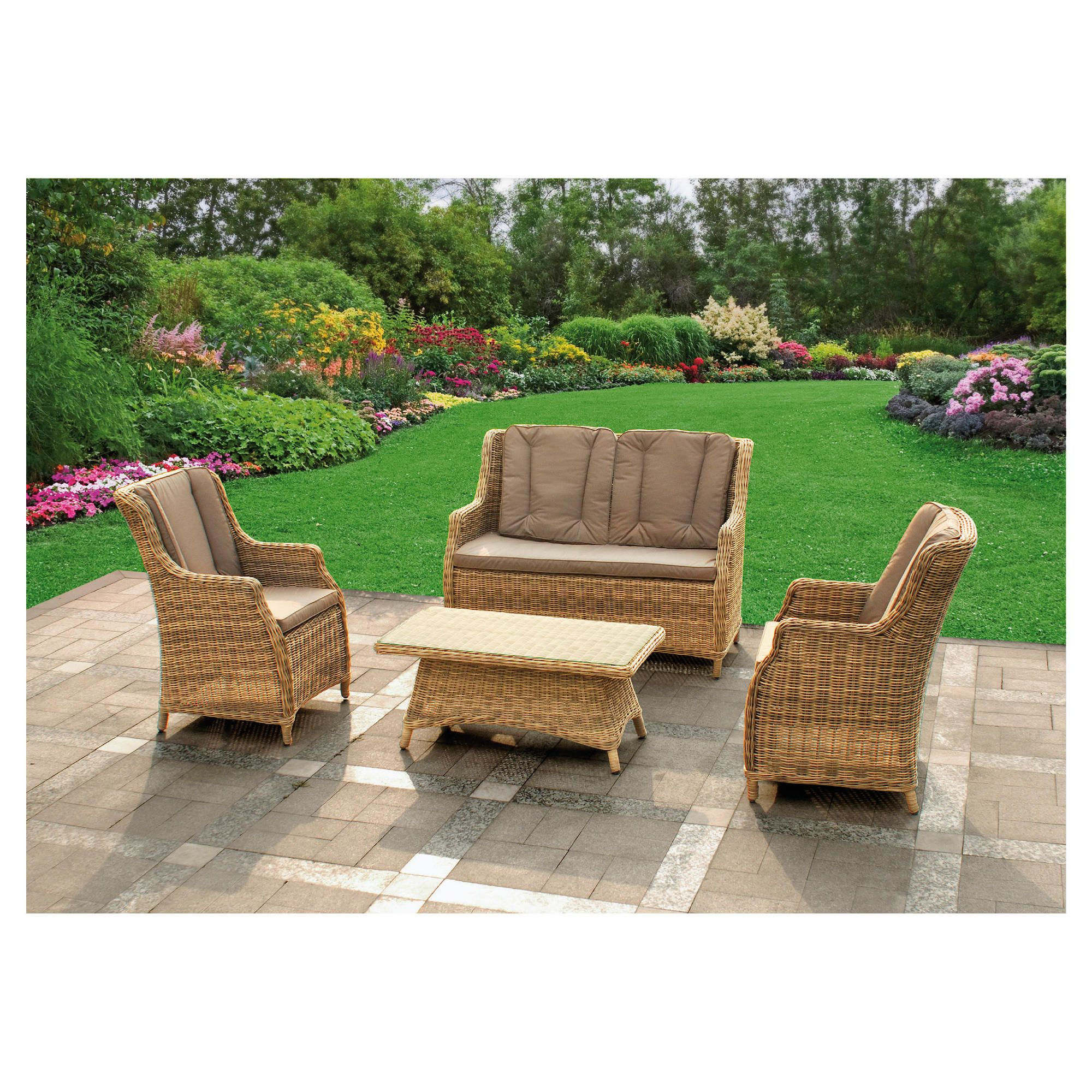 Royalcraft Verona lounge set at Tesco Direct