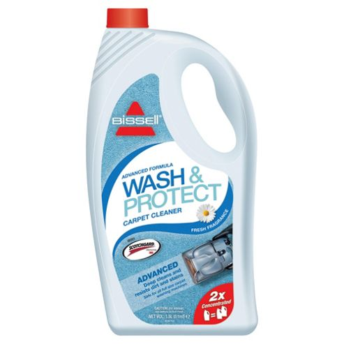 Bissell Wash & Protect 2X Concentrated Carpet Washing Formula with Scotchgard Protection - Fresh fragrance