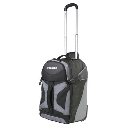 Wenger Wheeled Business Case, Black & Grey 24