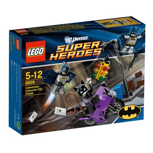 Lego Super Heros Catwoman Catcycle City Chase 6858