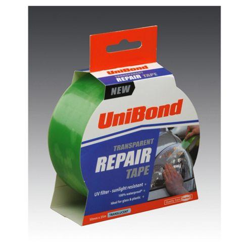 Unibond Transparent Repair Tape 50 X 25