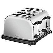 Swan ST14020N 4 Slice Toaster - Stainless Steel