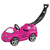 Little Tikes Mobile Girls Ride-On Car (With Eyes Decal)