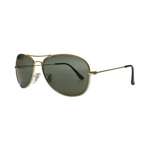 Glare Eyewear Oval Aviator Sunglasses