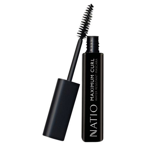 Natio Maximum Curl Water Resistant Mascara Blackest Black
