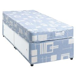 Tesco Open Coil Single Slidestore Divan Bed