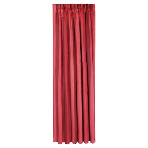 Tesco Hampton Stripe Pencil Pleat Unlined Curtains W168xL183cm (66x72