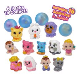 Squinkies 16Pc Bubble Pack