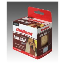 Unibond Anti Slip Rug Grip Tape White 63.5 7.62