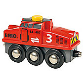 Brio Push & Play Switching Engine Wooden Toy